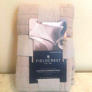 Fieldcrest Cotton/Cashmere Sham 20x28 in